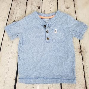 Carter's Button Tee With Pocket